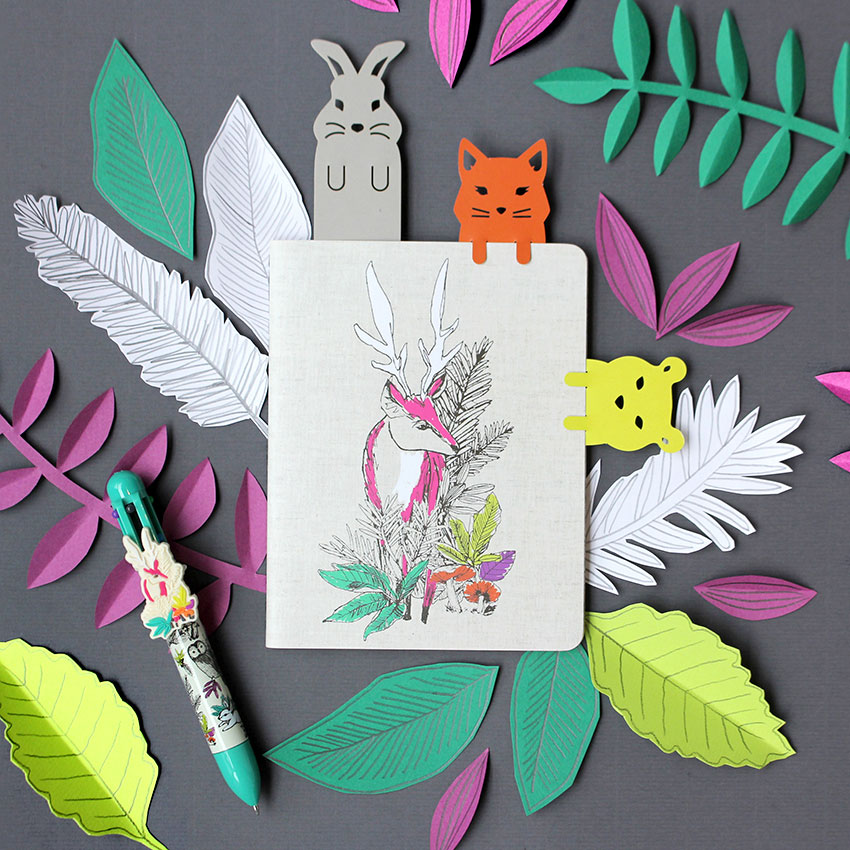 woodland-tails-stationery-bookmarks-paperchase